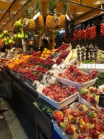Mercat de St Joseph, La Boqueria (Markets) full of fresh fruits and other delicacies