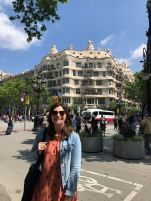 Casa Milà and Jetlagged George