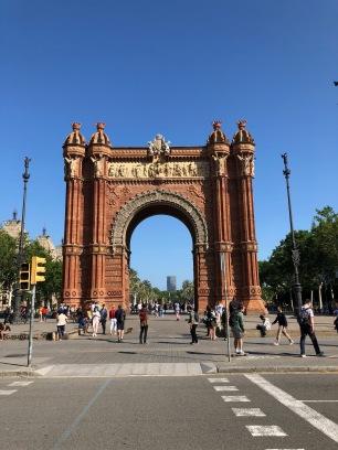 Arc de Triumf- the Barcelona edition