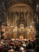 The Basilica in full swing
