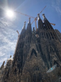 It's hard to believe La Sagrada will stand significantly higher than it does today when finished.