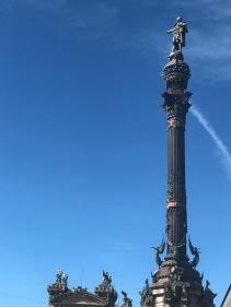 The column of Christopher Columbus