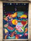 Barcelona street art in the Gothic Quarter