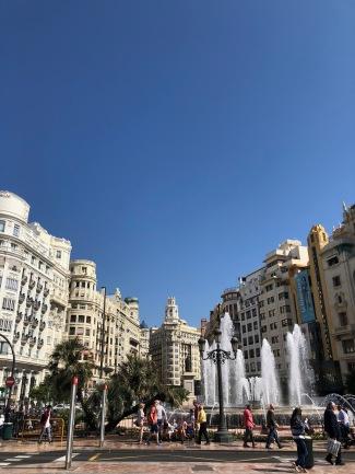 Town centre of Valencia