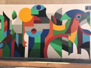 El Barrio de Carmen and magnificent street art!