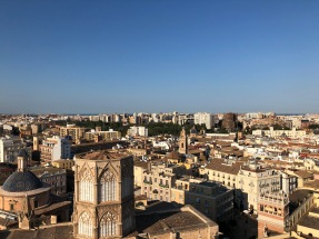 The beautiful views of Valencia