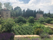 The farm and gardens of the Alhambra, the self-sufficient fortress