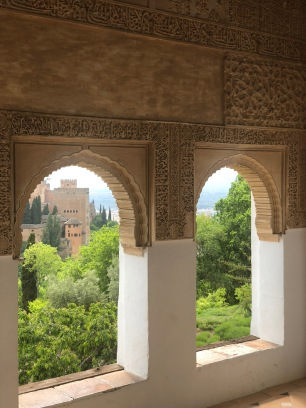 Stone work in the Alhambra