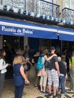 Pastéis de Belém queue- well worth the wait