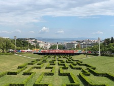 Eduardo VII Park overlooking the City
