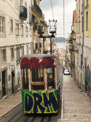 Commemorative tram, Lisbon