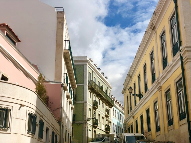 Colourful streets of Lisbon