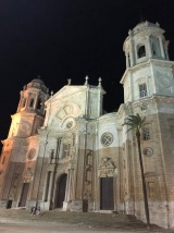 La Catedral at night