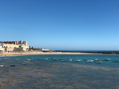 The view from El Castillo de Santa Catalina, Cadiz