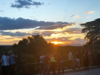 Sunset from the Temple de Debod