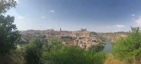 Looking back over Toledo