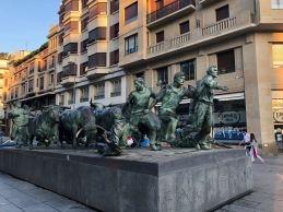 The San Fermin Monument, Pamplona