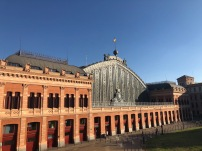 Madrid train station (inside looks like the theme park from Baby Geniuses- amazing!)