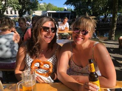 Beers, Pretzels and Laney