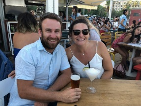 Sunset Cocktails in Barceloneta with Grant