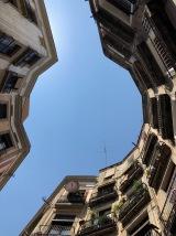 Alleys in the Gothic Barrio de Barcelona