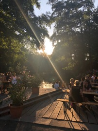 The beautiful Beer Garden