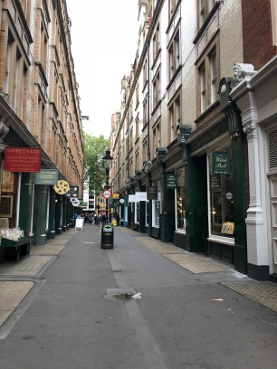 The street that inspired Diagon Alley