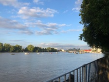 Running along the Thames