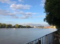 Running along the Thames