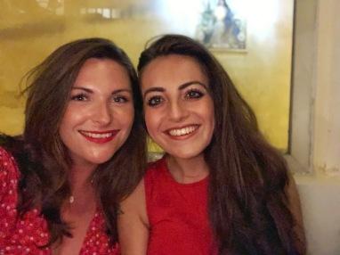 With my gal pal Em