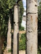 Roman columns in the city centre