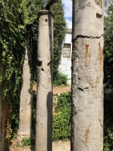 Roman columns in the city centre