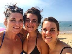 The trio- Em, Marion and I